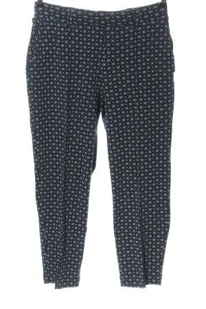 Lands' End Pantalone jersey blu stampa integrale stile casual