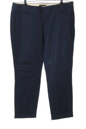 Lands' End Pantalone elasticizzato blu stile casual