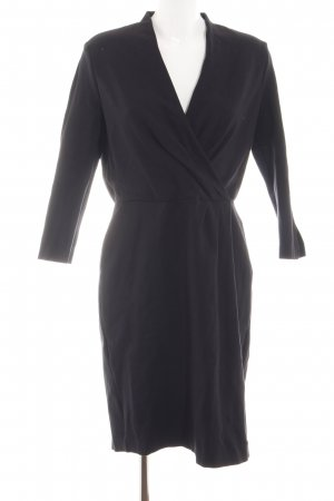 Lands' End Stretchkleid schwarz Business-Look