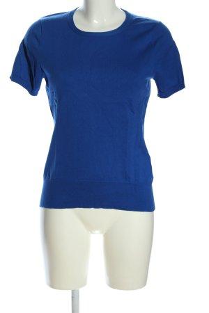 Lands' End T-Shirt blau Casual-Look