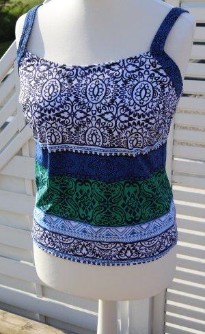 Tankini multicolor tejido mezclado