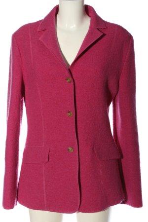Lands' End Blazer in lana rosa stile professionale