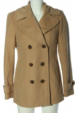 Lands' End Cappotto in lana color carne stile casual