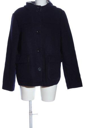 Lands' End Cappotto in lana lilla stile casual