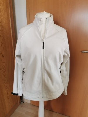 Lands' End Giacca in pile bianco sporco
