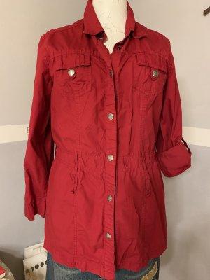 Street One Blusa de manga larga rojo