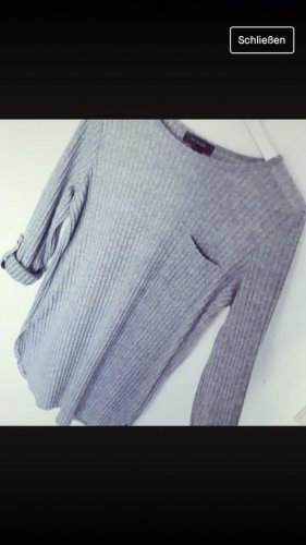 H&M Cárdigan largo gris claro