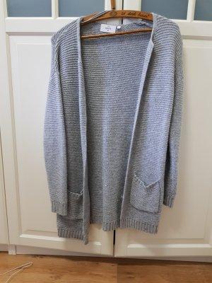 C&A Basics Wełniany sweter jasnoszary