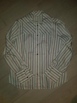 Langärmelige gestreifte Bluse von Eterna Excellent, Größe 40, NEU