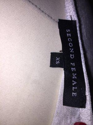Langärmelige Shirt in weiß