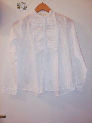 langärmeliges Shirt Hemd Bluse Zara