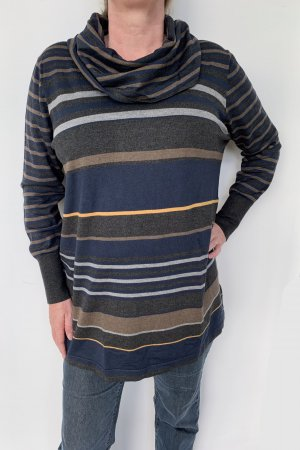 langärmliger Pullover mit großem Rollkragen, Gerry Weber, Größe 48