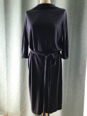 Just Female Abito jersey viola scuro Viscosa