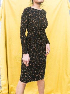 langärmliges Kleid mit Leopardenmuster von Ralph Lauren
