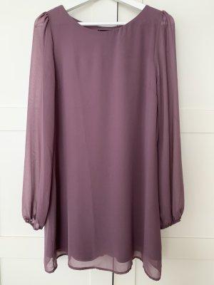 Langärmliges Kleid von Primark - Größe XS/34 - lila/flieder
