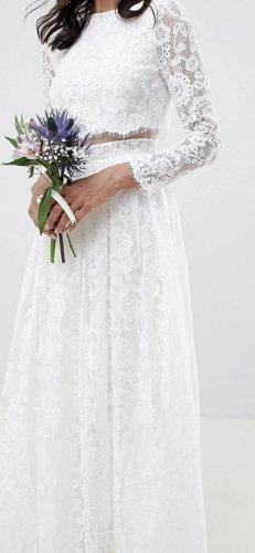 Asos Abito da sposa bianco sporco