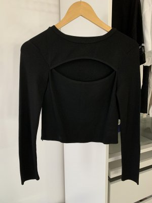 Zara Lange top zwart