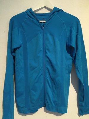 Crane Kurtka sportowa niebieski neonowy Poliamid