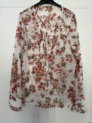 Langarm Blumenbluse