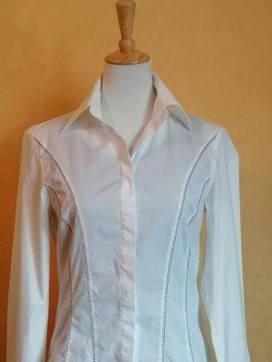 Bandolera Long Sleeve Blouse natural white