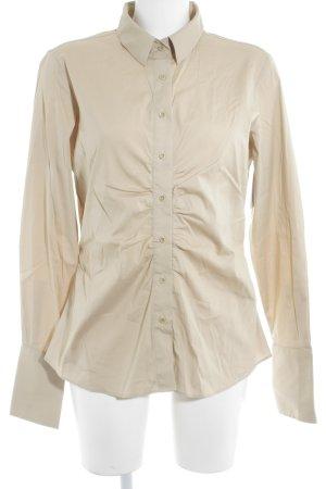 Langarm-Bluse beige Elegant