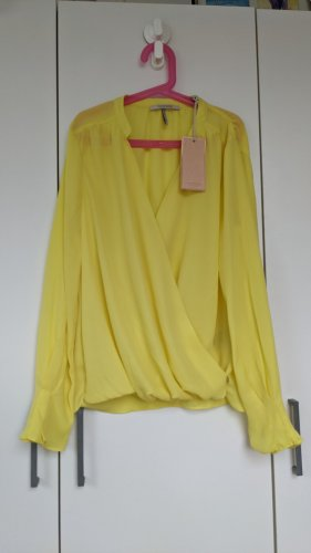 Scotch & Soda Blusa cruzada amarillo