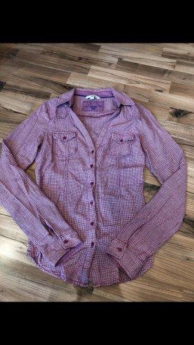 Tally Weijl Geruite blouse wit-paars