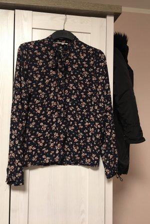 Langarm Bluse mit Blumenmuster