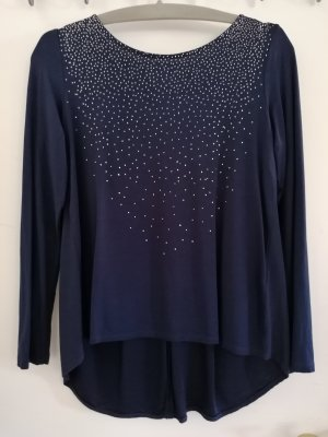 Langarm-Bluse mit coolem Rücken
