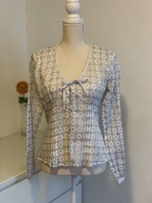 Langarm Bluse mit Mustern von Bandolera