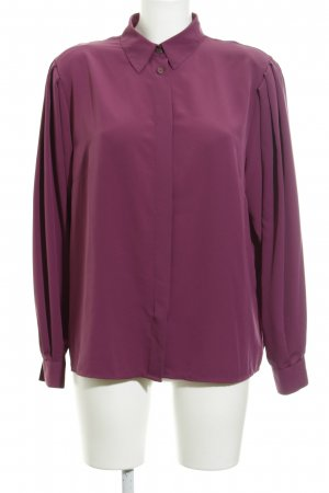 Langarm-Bluse purpur Casual-Look