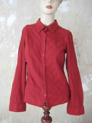 Langarm-Bluse rot - casual Look