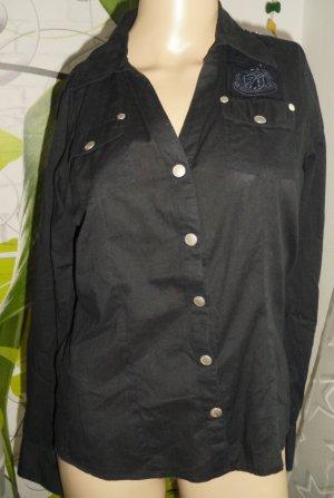 Sublevel Long Sleeve Blouse black