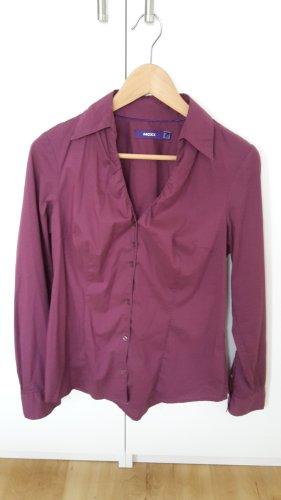 Langarm Bluse von Mexx in lila