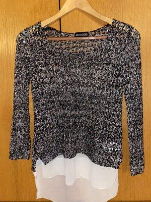 My Holly's Jersey largo negro-blanco