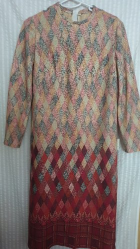 Langarm-Kleid Gr.42 Vintage neu
