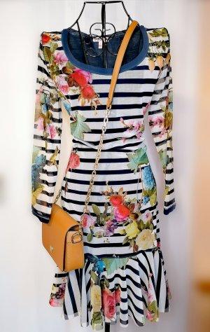 Juicy Couture Abito a maniche lunghe nero-color oro rosa