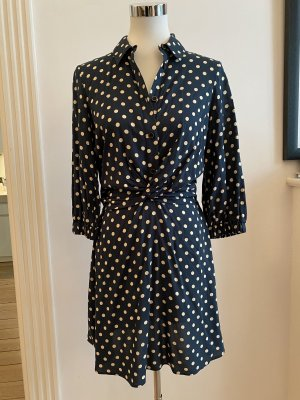 Langarm Kleid Zara dunkelgrün