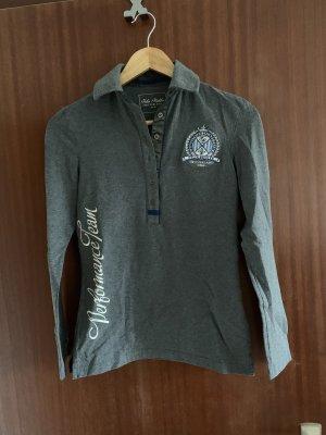 Felix Bühler Camiseta tipo polo gris oscuro-gris