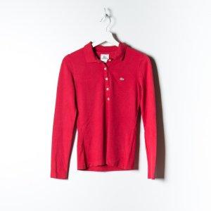 Langarm Poloshirt