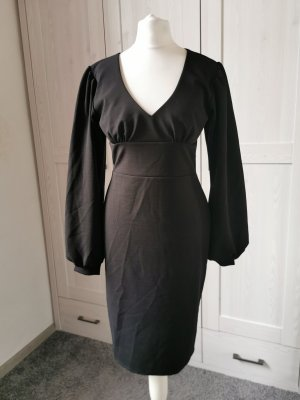 Belsira Robe à manches longues noir