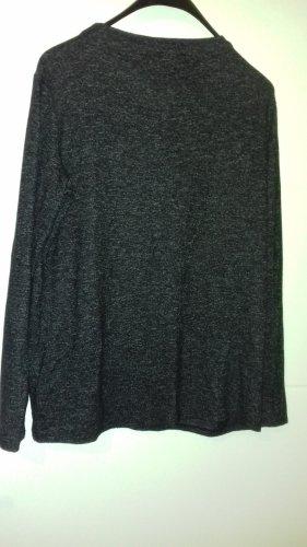 Tom Tailor Boothalsshirt zwart