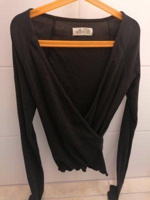 Hollister T-shirt col en V noir