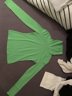 SheIn Camisa de cuello de tortuga verde neón
