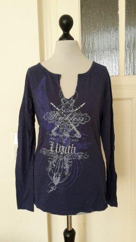 langarm Shirt - blau - Größe 40