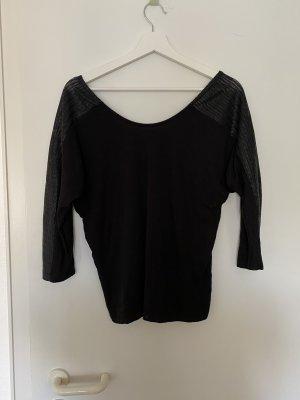 Pieces Koszulka z długim rękawem czarny