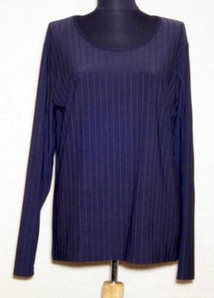 Langarm Shirt Größe XXL Gina Benotti Blau