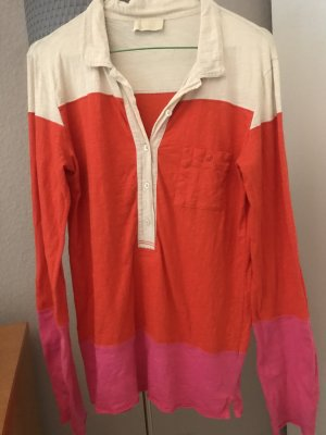 Langarm-Shirt in Colourblocking Optik