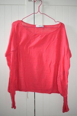 Langarm-Shirt in pink