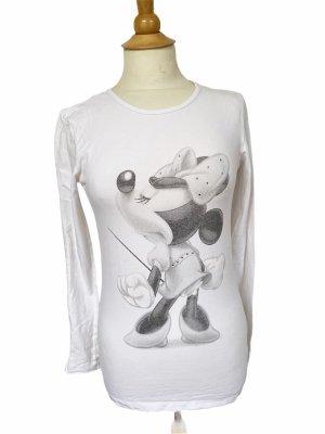Langarm Shirt Minnie Maus Gr S
